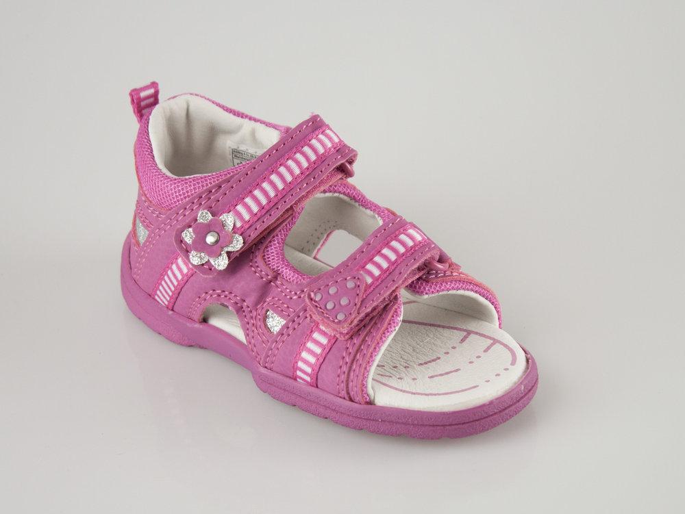 buy popular 5643d e2618 Brütting 641045 FLIPPO V sandals pink/silver