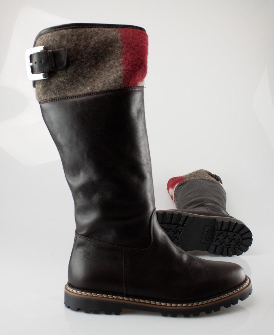 Ammann 8090 BERN Stiefel WF GlattlederLammfell tdm