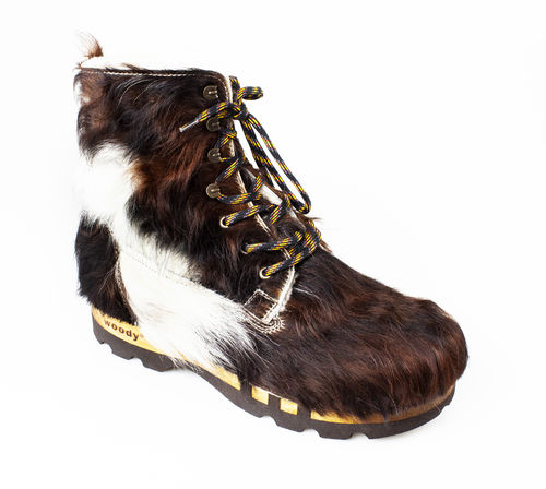 Woody PASCAL FELL Schnürboots WF natur fell