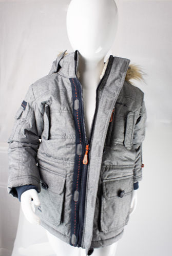 Kamik Wear Winterjacke LINUS WF Polyester grey-mix