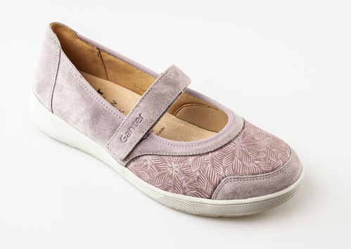 Ganter Sensitiv 208163-4700 KLARA K Klettballerinas Nubuk rose