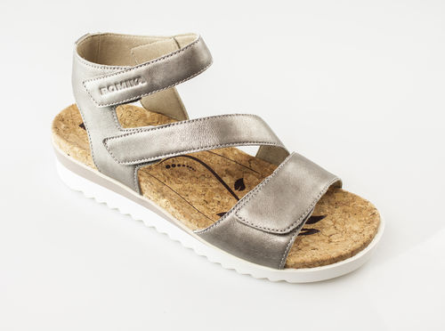 Romika 40804-730 HOLLYWOOD 04 Sandalen platin