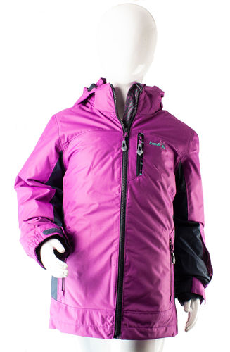 Kamik Wear AUSTEN Systemjacke 3 in 1 WP berry-charcoal
