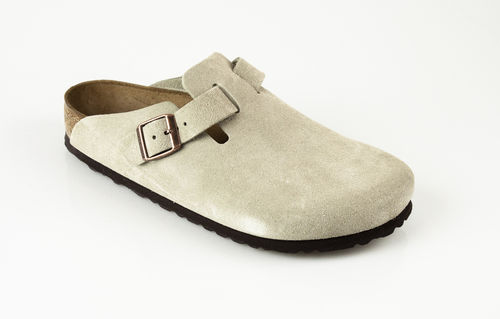 Birkenstock 60461 BOSTON Slipper Velour taupe