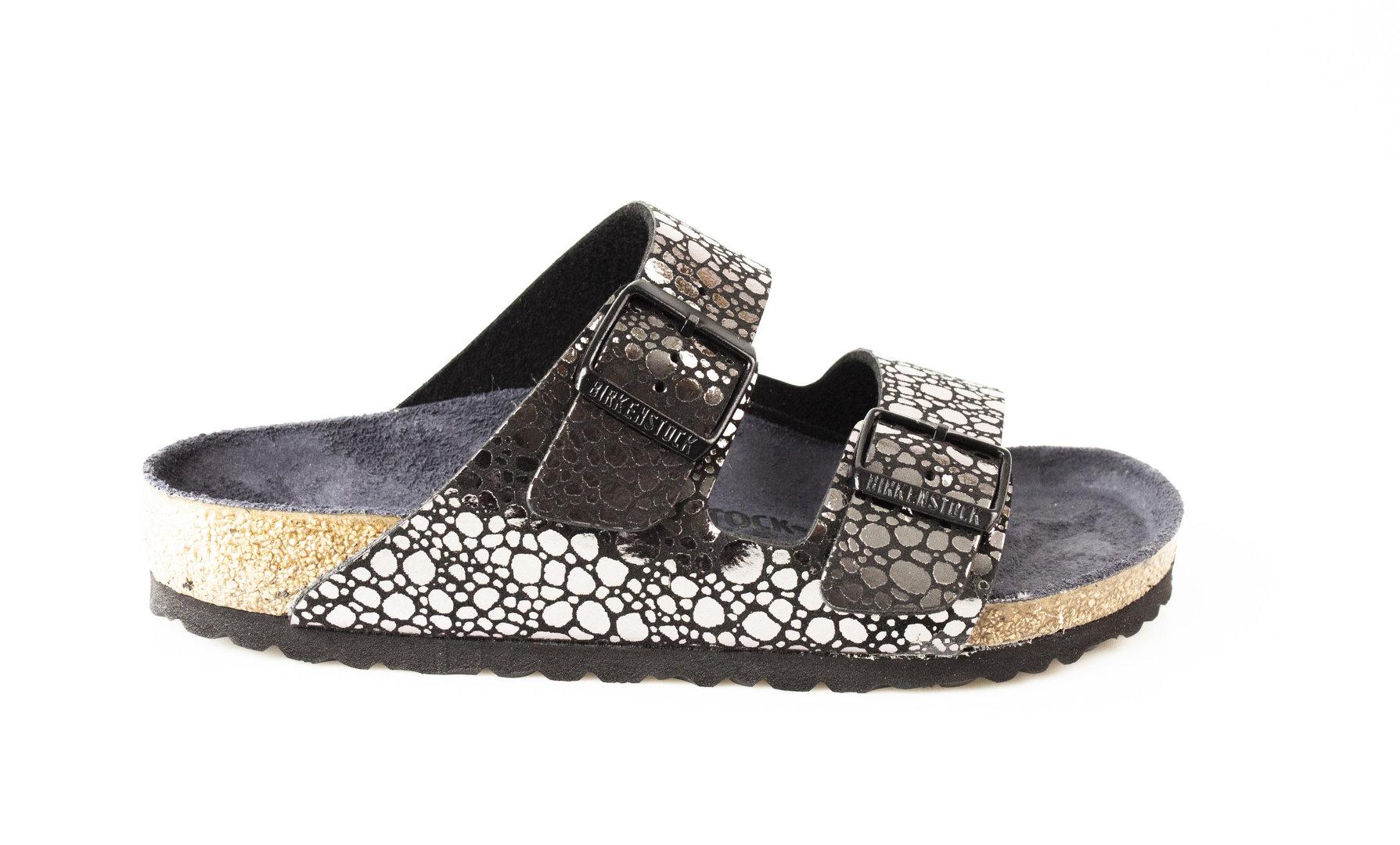 Birkenstock Damen Arizona BF 1008871 metallic stones black
