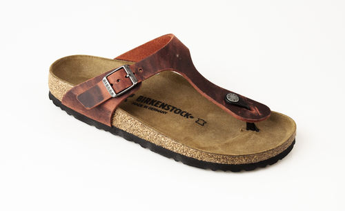 Birkenstock 1015547 GIZEH LEOI Zehengreifer schmal earth red