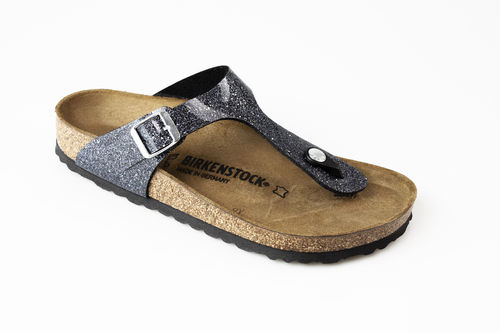 Birkenstock 1014394 GIZEH BF Zehengreifer normal cosmic sparkle anthracite
