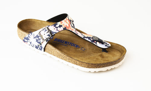 Birkenstock 1016136 GIZEH SFB BFDD Slippers normal flower navy