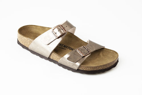 Birkenstock 1016169 SYDNEY BF Slippers normal graceful taupe