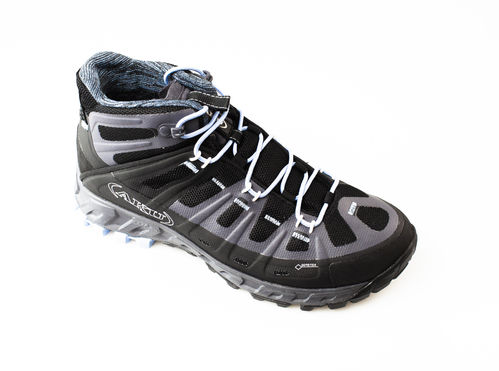 AKU 676-144 SELVATICA MID GTX WS Schnürboots air8000 black/light blue