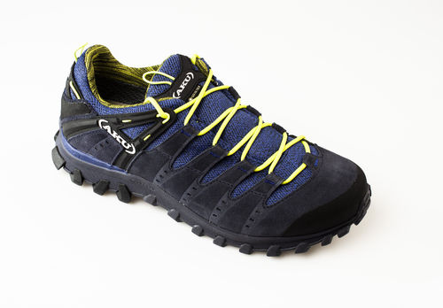 AKU 715-129 ALTERRA LITE GTX Schnürschuhe air8000/velour anthracite/blue