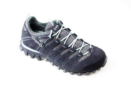 AKU 716-274 ALTERRA LITE GTX WS Schnürschuhe air8000/velour anthracite/light blue
