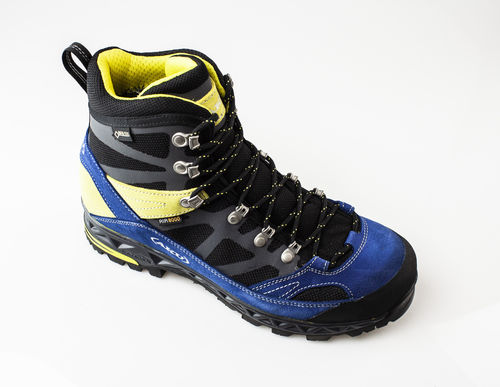 AKU 844-355 TREKKER PRO GTX Schnürboots air8000/velour black/fluo yellow