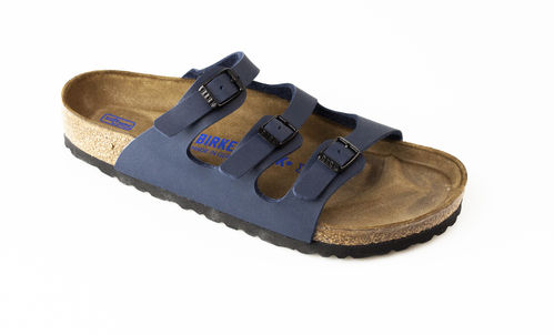 Birkenstock 554711 FLORIDA BF WB Slippers normal blau