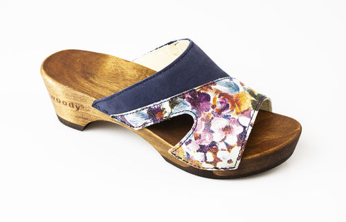 Woody FIONA Slippers blan/abiss