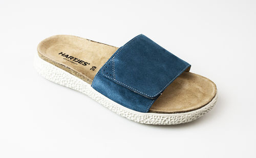 Hartjes 120122-69 MOVE Slipper/Klett Velour petrol