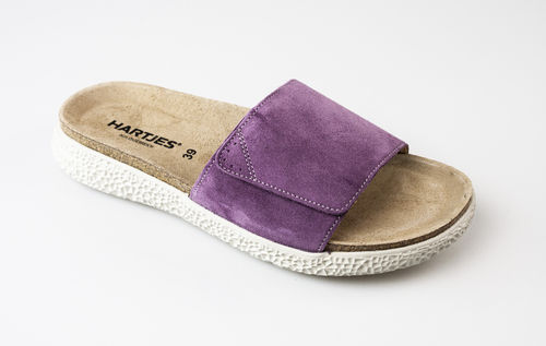 Hartjes 120122-85 MOVE Slipper/Klett Velour flieder
